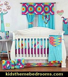 Tie Dye Bedding Crib Bedding