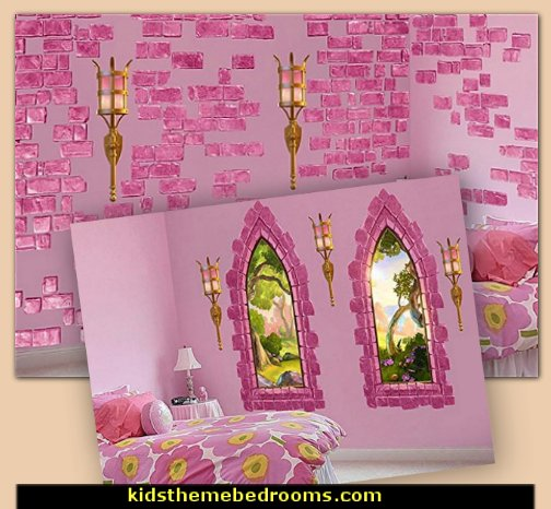 Castle Themed Bedroom Ideas Princess Castle Decorations Castle Themed Room