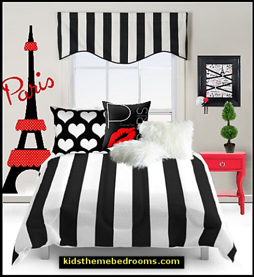Paris Bedroom Ideas Decorating Decor Eiffel Tower For Themed French Poodle Decorative Accents Style